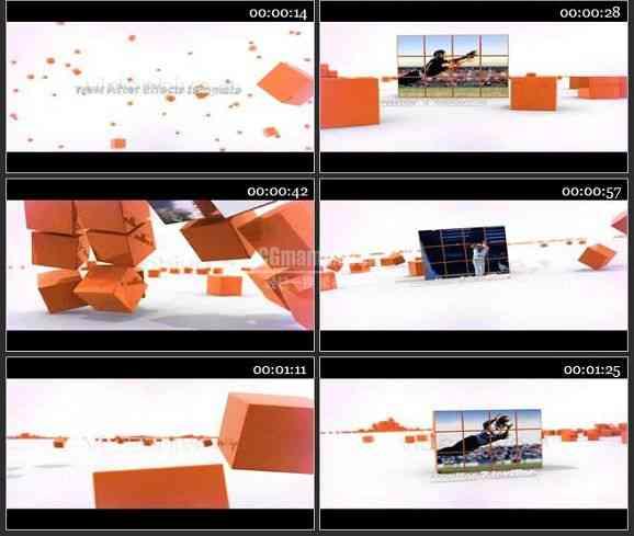 AE1143 立体组合效果相片展示 图文展示