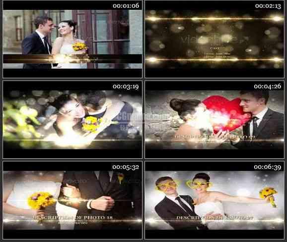 AE1231- 婚庆视频整体包装模板
