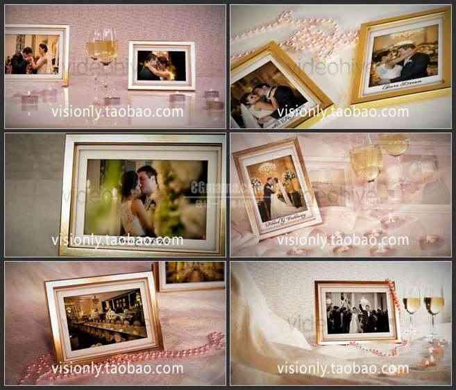 AE2529-珠光宝气 华丽相框 婚庆类相册