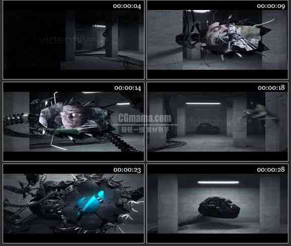 AE1332 高科技效果图片视频展示