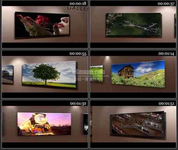 AE1362 虚拟3D室内空间相片展示