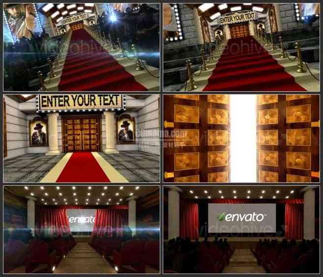 AE2580-红毯颁奖典礼  LOGO展示