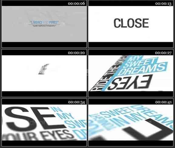 AE1490 文字特效排版 文本展示