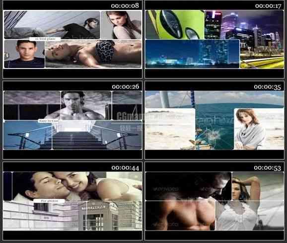 AE1492 时尚运动电视栏目包装模板