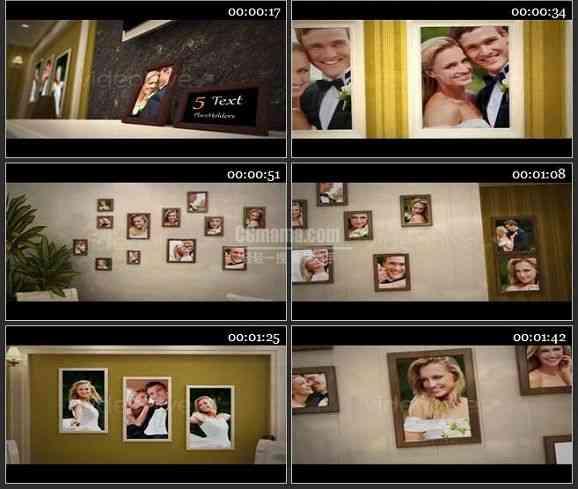 AE1551 爱的房子婚庆相册