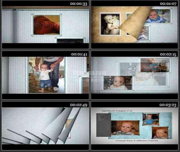 AE1554 我的相册儿童类