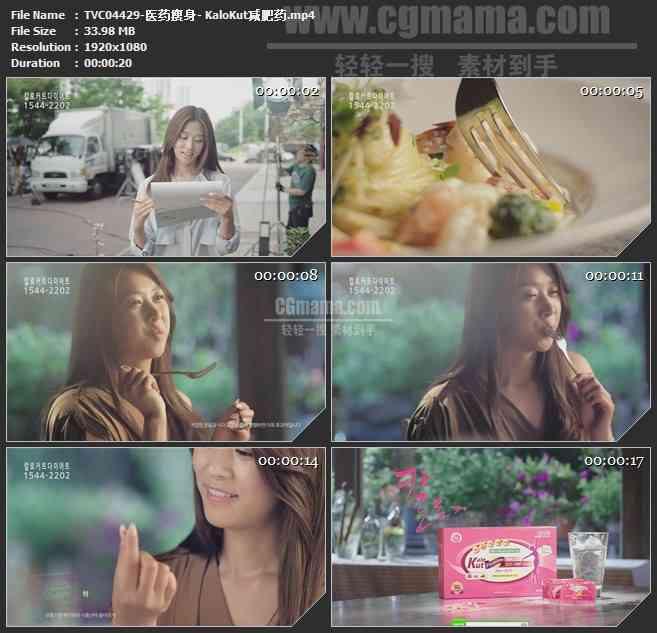 TVC04429-医药瘦身- KaloKut减肥药