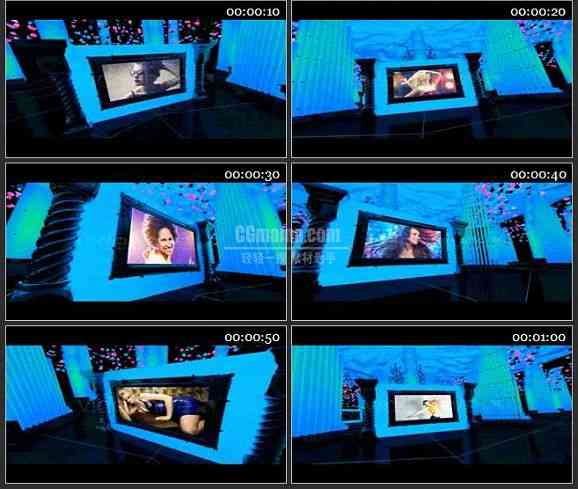 AE1564 霓虹灯时尚设计广告模板 图片展示