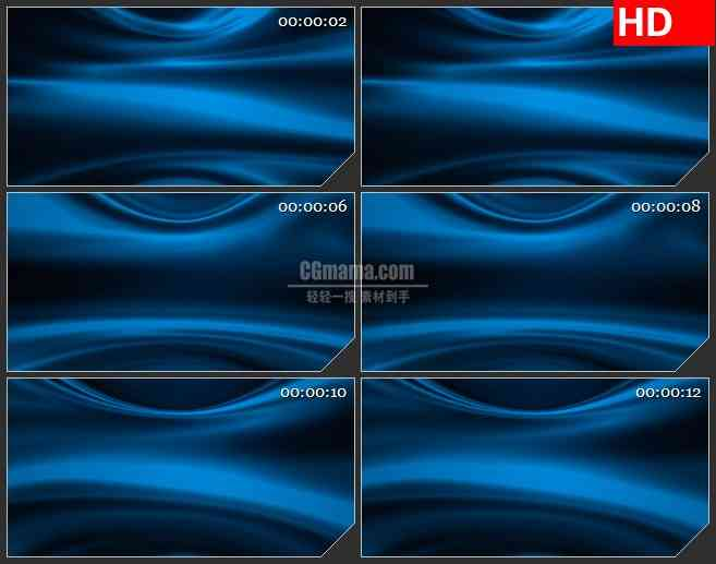 BG0791-二维运动蓝色背景led大屏视频素材