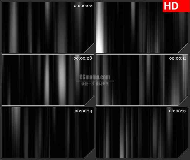 BG0796-幽灵光轴黑白光线高清led大屏视频背景素材