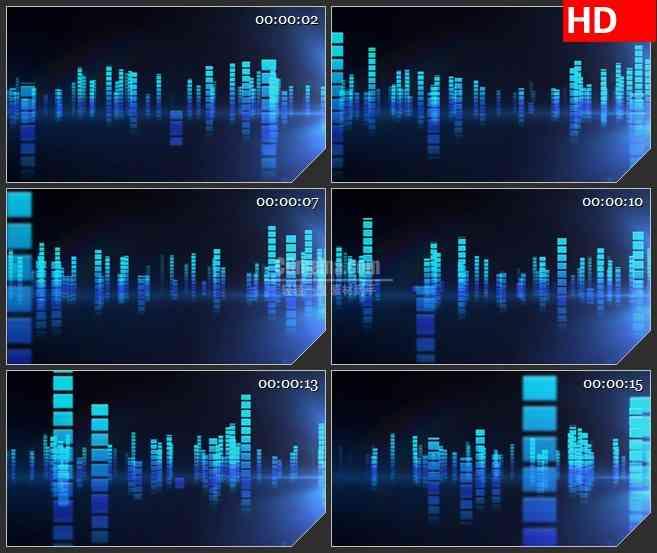 BG0799-音乐晚会跳动动感音效高清led大屏视频背景素材
