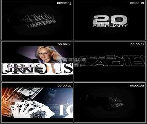AE1603 酒吧俱乐部宣传模板 图文视频展示