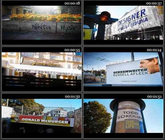 AE1605 城市生活广告推广电视包装模板