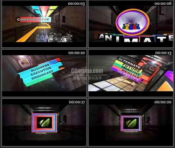 AE1608 多彩的走廊 图文展示