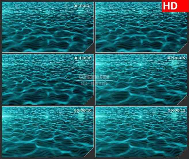 BG0817-水波涟漪流体粒子高清led大屏背景视频素材