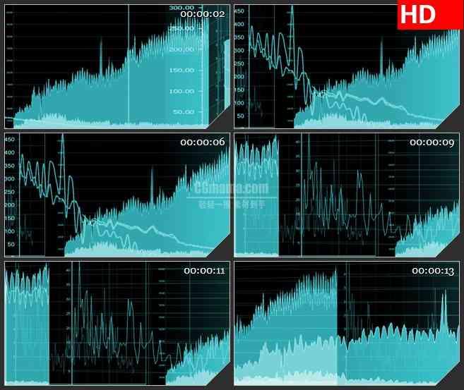 BG0826-滚动图表数据图高清led大屏视频背景素材