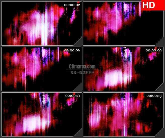 BG0834-动感黑暗火焰高清led大屏视频背景素材