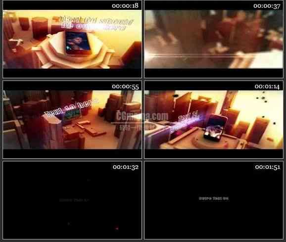 AE1701 大气手机广告宣传模板