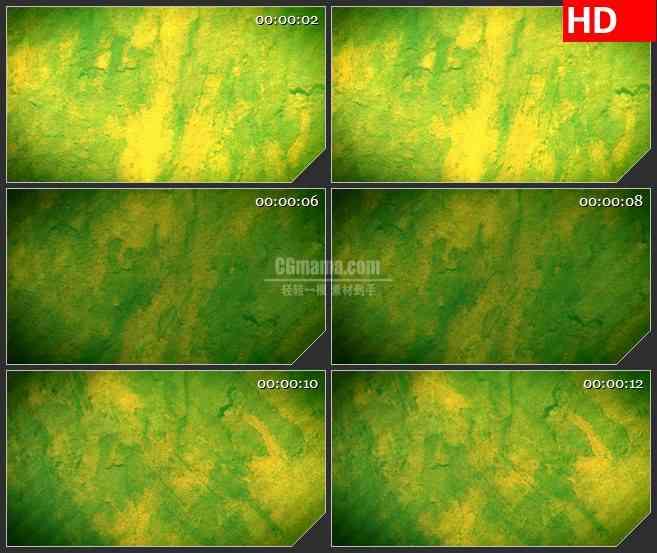BG0863-绿色油漆抽象背景高清led大屏视频素材