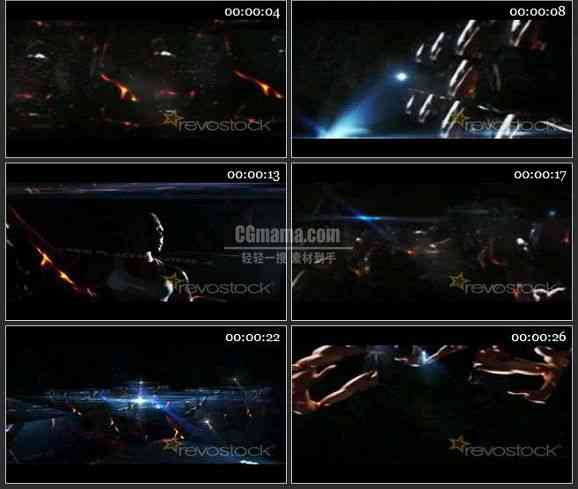AE1797透明立方体二视频展示
