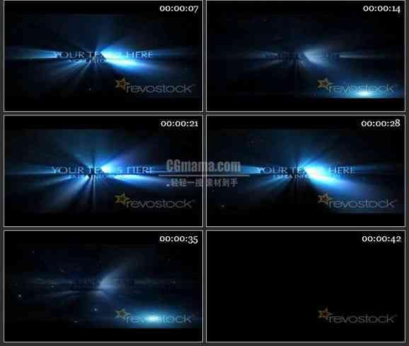 AE1810-光效背景文本展示