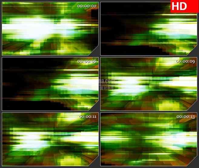 BG0879-绿色科技方块高清led大屏视频背景素材