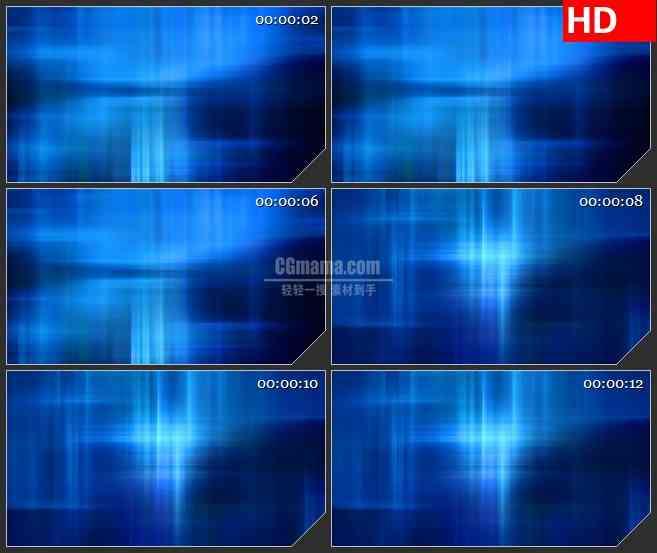 BG0887-蓝色极光光线高清led大屏视频背景素材