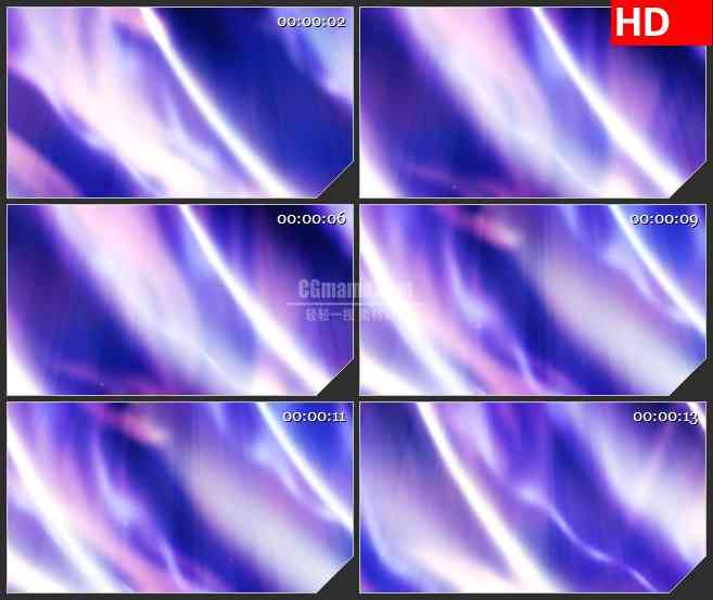 BG0905-白色紫色蓝色炫光光效纹理高清led大屏视频背景素材