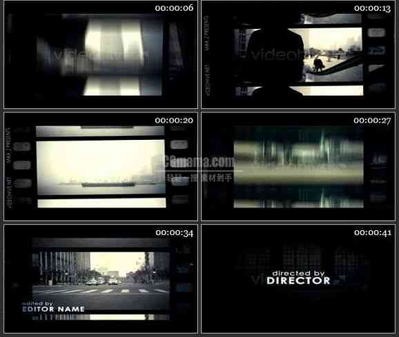 AE1894-胶片效果电视栏目包装