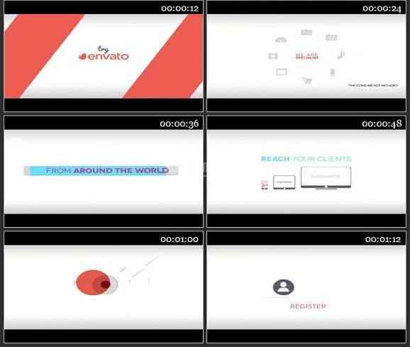 AE1914-公司产品宣传商业介绍