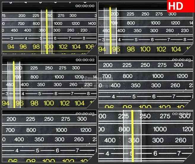 BG0944-变焦播放器中的磁带扫描仪LED高清背景视频素材