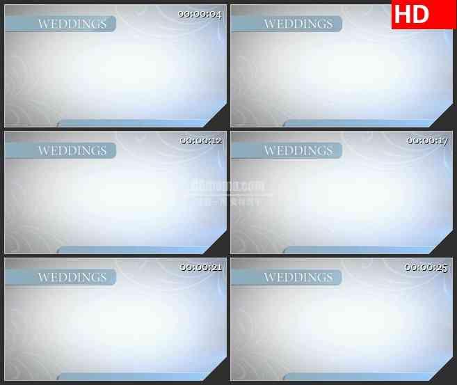 BG0993-结婚婚庆淡雅背景写字高清led大屏视频背景素材