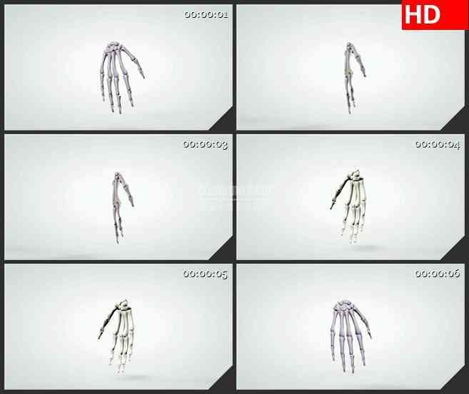 BG1033-三维解剖模型的转手骨头人体生物医疗高清视频素材