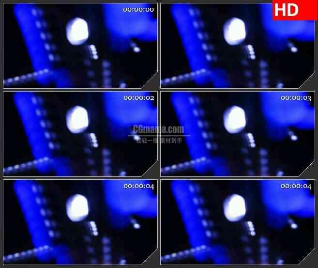 BG1057-跳动活跃的光斑LED背景高清视频素材