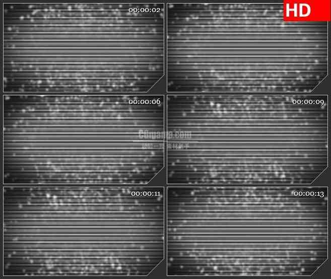 BG1161-黑白条纹纹理粒子跳动动态LED高清视频背景素材
