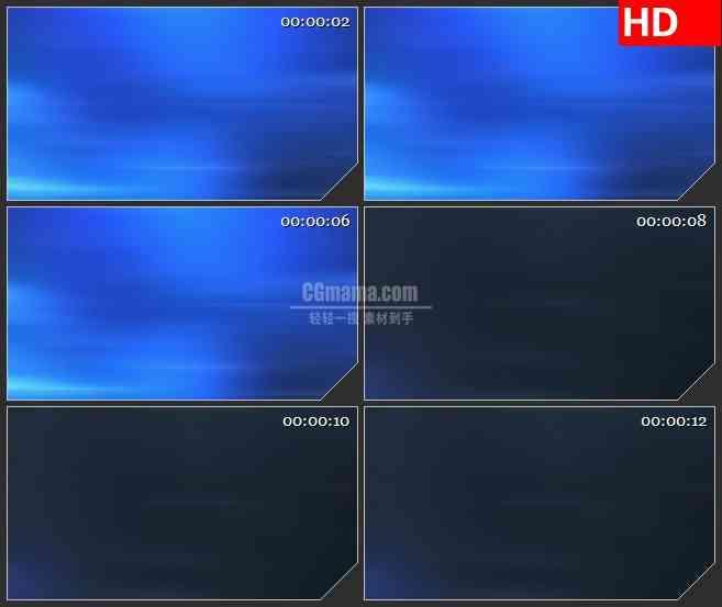BG1179-蓝色波浪形态动态LED高清视频背景素材