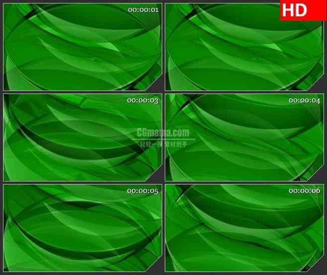 BG1199-绿色水波能量运动动态LED高清视频背景素材
