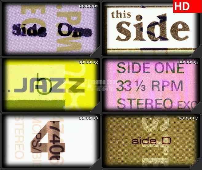 BG1224-乙烯基图形数字彩色变换动态LED高清视频背景素材