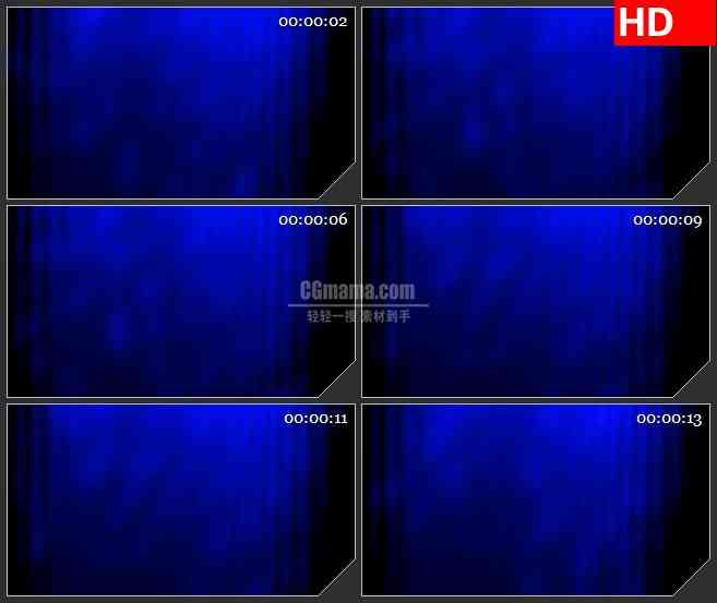 BG1287-蓝色波纹水下灯光动态LED高清视频背景素材
