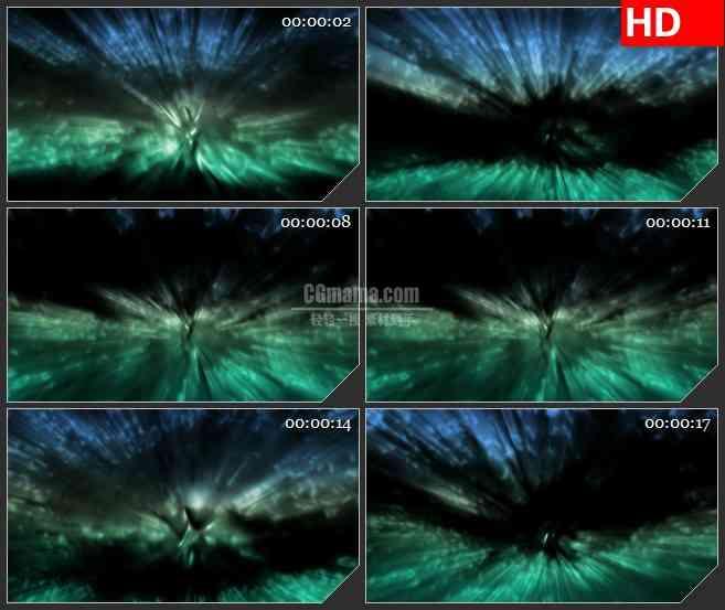 BG1331-水下拍摄阳光光线幻影动态LED高清视频背景素材