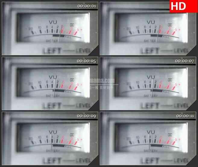 BG1361-紫外分光光度计指针拨动动态LED高清视频背景素材
