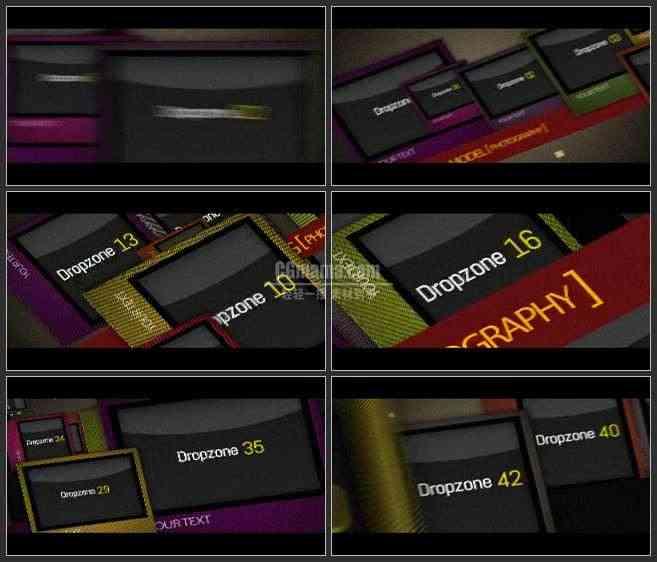 AE2606-多媒体时代 图片视频展示