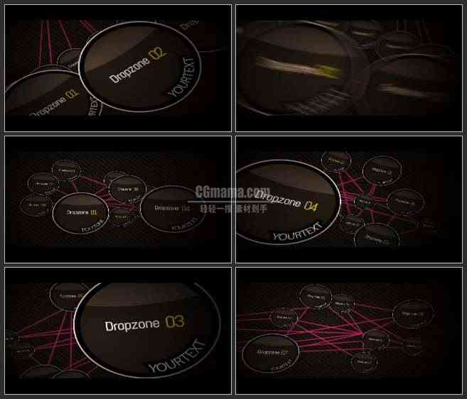 AE2607-图表二维动画 图文展示