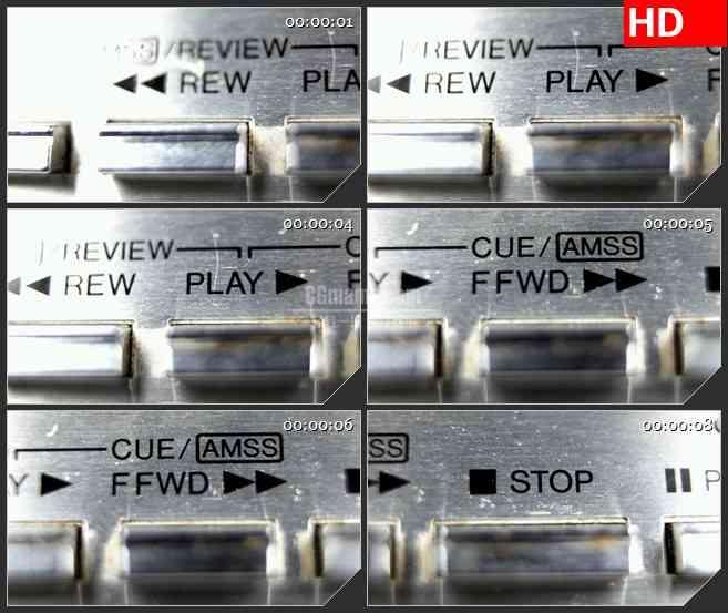 BG1393磁带播放器的宏观控制动态LED高清视频背景素材