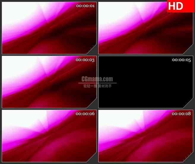BG1477流动的红色渐变光线 优雅高贵红背景 高清LED大屏视频背景素材