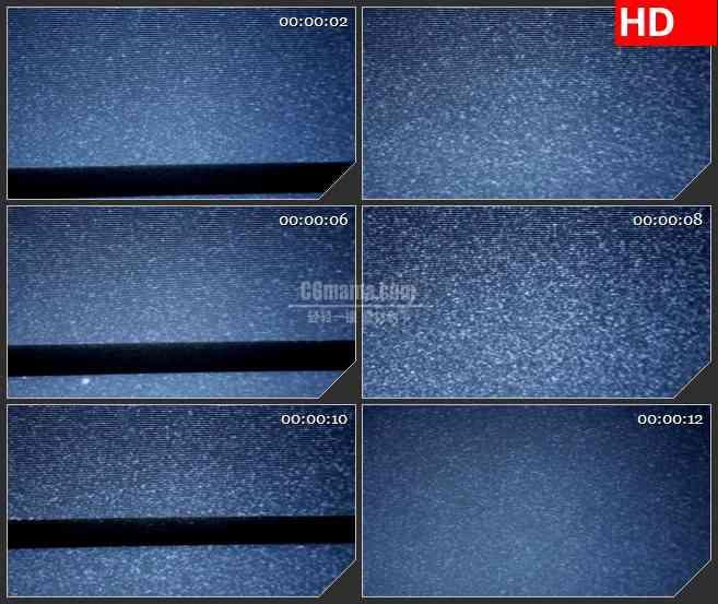 BG1527无信号电视屏幕信号干扰雪花点黑色横条动态LED高清视频背景素材