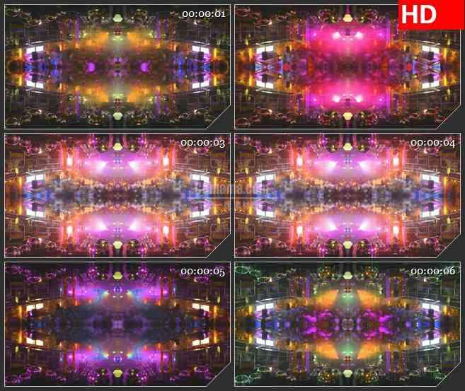 BG1549演唱会舞台KTV晚会 闪耀灯光 动感光球 高清LED大屏幕视频背景素材