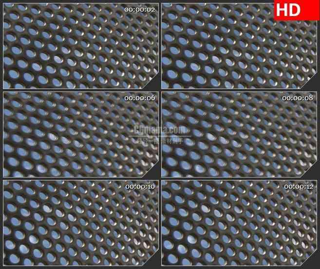 BG1580不锈钢孔网的天空动态LED高清视频背景素材