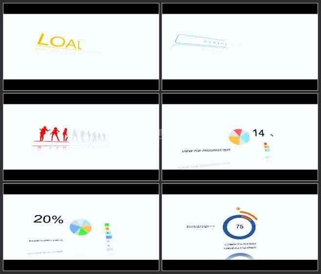 AE2751-图表二维动画 商务类 图文展示 宣传片