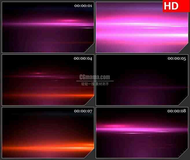 BG1622粉红色紫红色闪烁光线动态LED高清视频背景素材